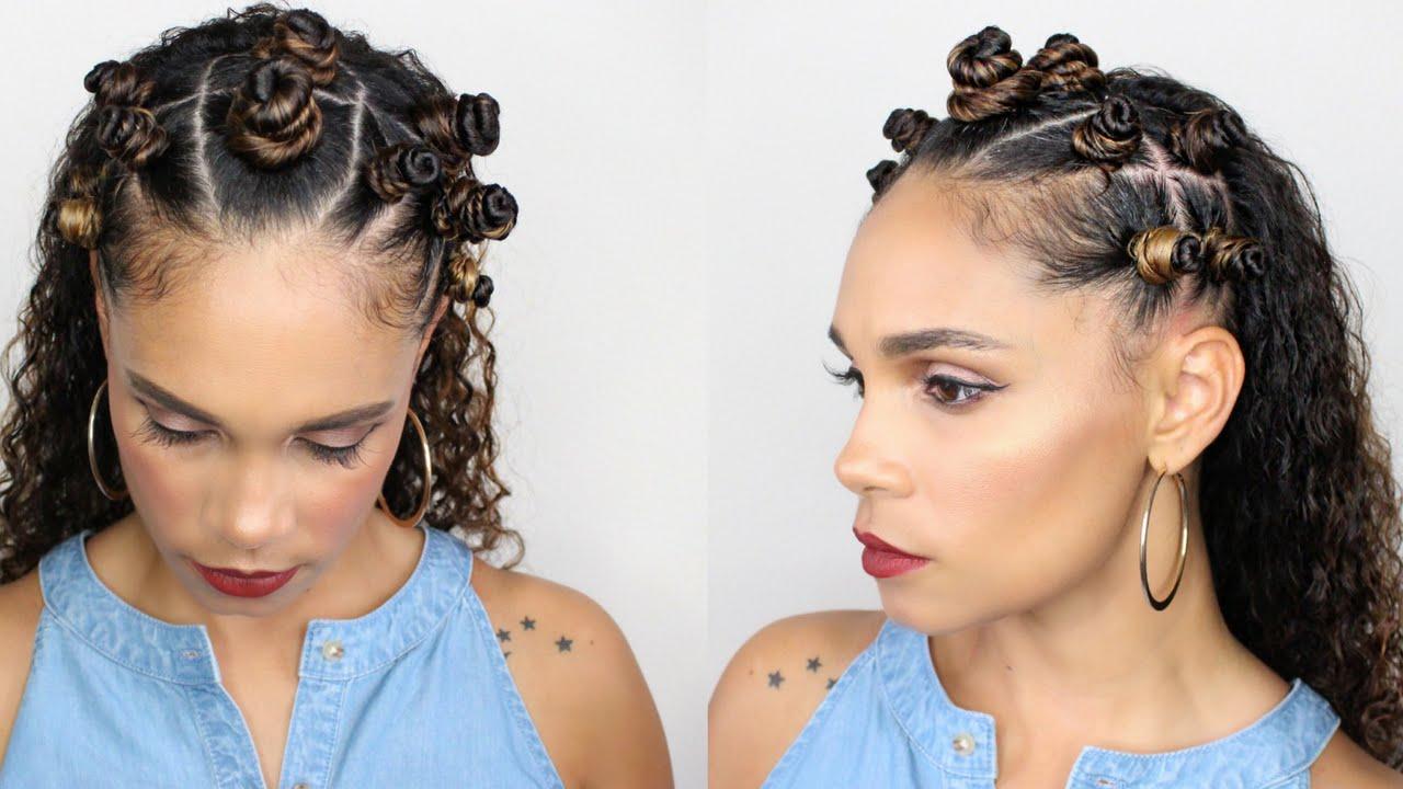 Natural Hair Styles Bantu Knots: Natural Hair: Bantu Knot Hairstyle