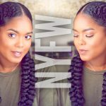 Natural Hair | Fashion Week Inspired Braided Hairstyle [Video]