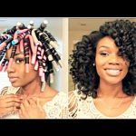 Natural Hair: Flexi Rod Set For BIG HYDRATED CURLS [Video]