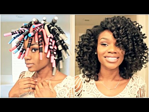 flexi rod styles on relaxed hair hairstyles with flexi rods hairstyles 3024