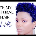 NATURAL HAIR: HOW I DYE + BLUE HAIR [Video]