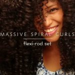 Natural Hair | Massive Spiral Curls | Perfect Flexi-Perm Rod Set [Video]