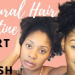 Natural Hair Routine & How to Moisturize Dry Hair | Start to Finish [Video]