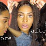 NATURAL HAIR TUTORIAL: HOW TO SLICK DOWN 4C HAIR + WIG ROUTINE (PREP WIG TO LOOK NATURAL & STYLE) [Video]
