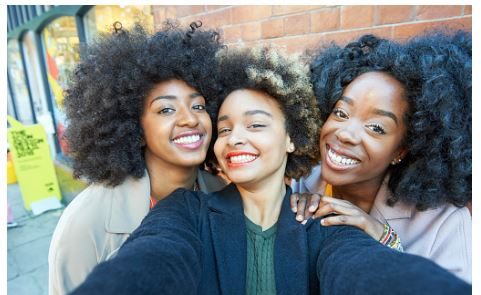 natural hair women