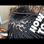 Neatest Twists Ever With Kanekalon Hair [Video]