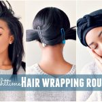 Nighttime Hair Wrapping Routine [Video]