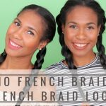 No French Braid French Braid Look|How to get the French Braid Look Without French Braiding [Video]