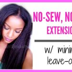 No-Glue, No-Sew Full Head Clip In Extensions [Video]
