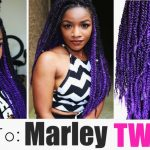 Purple Marley Twists Tutorial [Video]