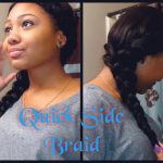Quick n' Easy Cute Side Braid [Video]