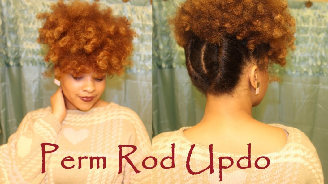 Quick Perm Rod Updo Video Black Hair Information