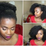 Realest Looking Fake Afro On Crochet Braids [Video]