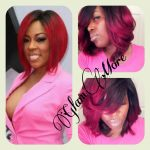 Red Ombre Weave Inspired By K. Michelle [Video]