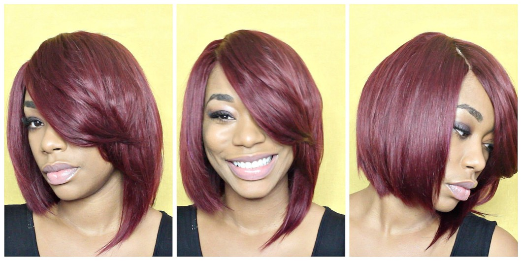 Red Quick Weave Razor Cut Video Black Hair Information