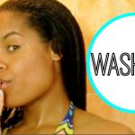 Relaxed Hair: Transitioning Hair Wash Day