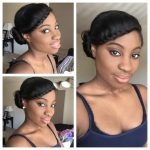 Simple Protective Style (relaxed Hair) [Video]