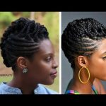 Styled by westNDNbeauty| Twist, Roll, & Braid Natural Hair Updo Tutorial [Video]