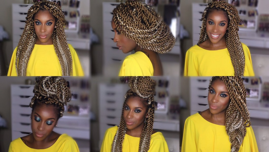 Styles For Marley/Senegalese Twists [Video]