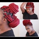 Styling Red Poetic Justice Braids [Video]