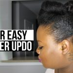 Super EASY Summer Up-Do Tutorial | Natural Hair [Video]