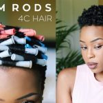 THE BEST Heatless Perm Rod Set on Tapered 4C TWA [Video]