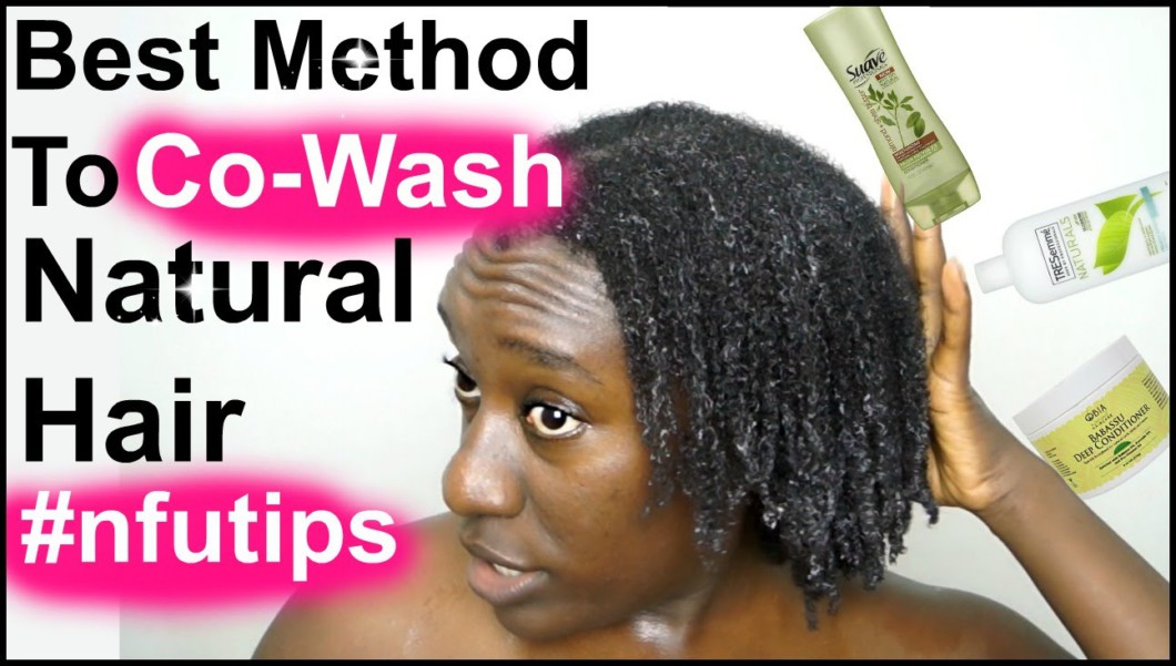 The Best Way To Co Wash And Shampoo 4C Natural Hair ...