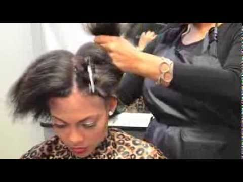 The Butterfly Effect Braiding Pattern For A Sew In - Black Hair ...