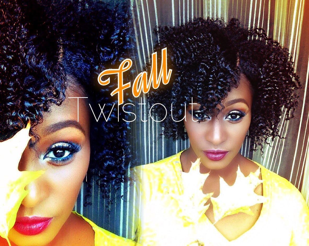 The Perfect Fall Twist Out On Short Medium Length 4b Natural Hair Video Black Hair Information