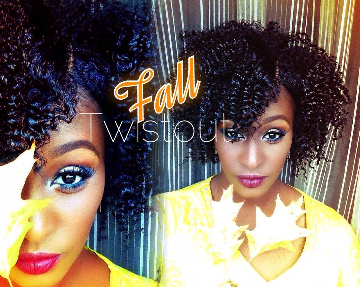 The Perfect Fall Twist Out On Shortmedium Length 4b