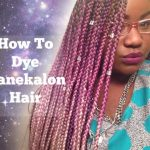 The Right Way To Color Kanekalon Hair [Video]
