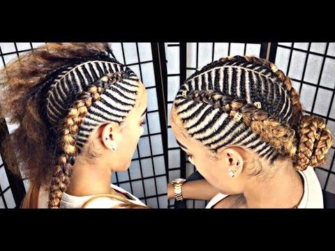 Tiger Fishbone Braids Video Black Hair Information
