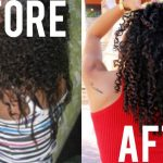 Tips For Transitioning + Training Natural Hair To Curl [Video]