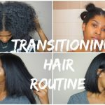 TRANSITIONING HAIR | Wash, Blow Dry & Flat Iron | 17 months post Relaxer