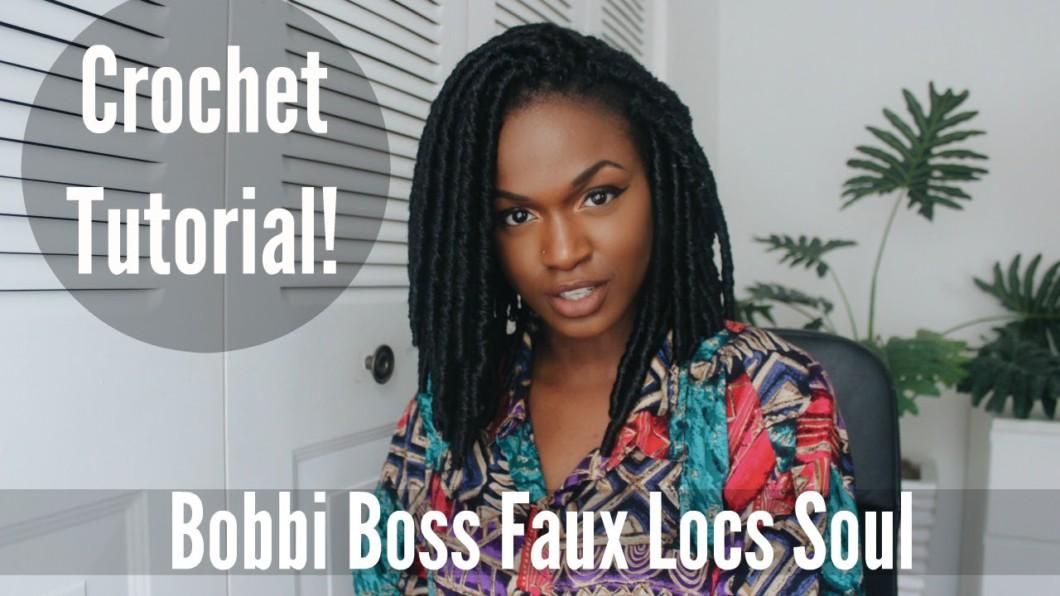 Tutorial Crochet A Bob Faux Locs For Under 30 Dollars Bobbi Boss Black Hair Information