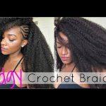 Tutorial│Versatile Crochet Braids w/ Side Braids (Marley Hair)