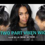 Two Part Vixen Wig Tutorial: Hair De La Creme Method [Video]