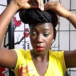 Updos For Box Braids [Video]