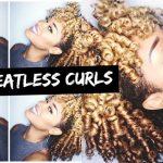 Voluminous Heatless Curls [Video]