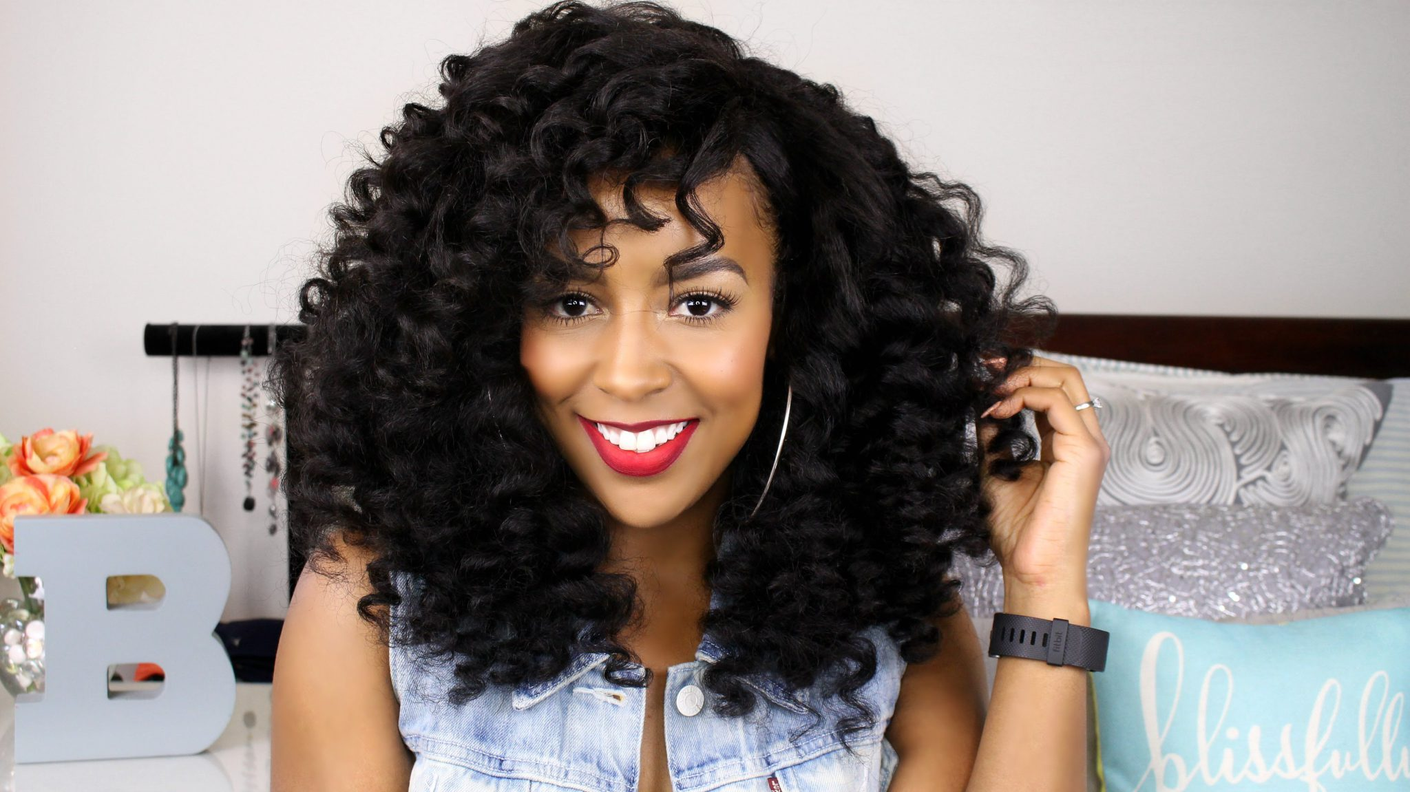 Wand Curls Tutorial Ft Curl Genetics Video Black Hair