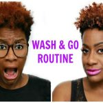 Wash & Go – Tapered Cut – Natural Hair [Video]
