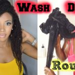 Wash Routine – Highly Requested Waist Length Natural Hair [Video]