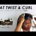 Wash to Style: Flat Twist & Curl With TGIN [Video]