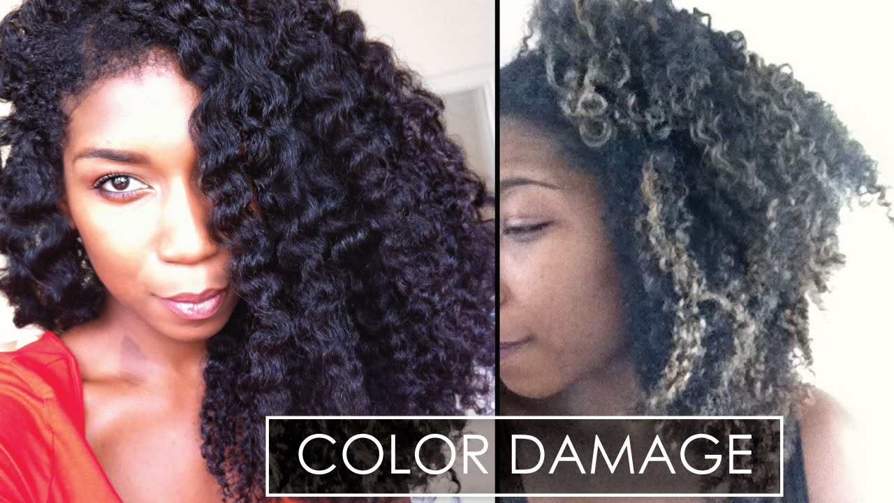 Why Heat Color Damage Sucks With Pictures Natural Hair Video