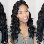 WRAP BRAIDS + SOFT WAVES | formal hairstyle tutorial