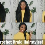 12 Super Easy Straight Crochet Hairstyles! – Outre X-pression Dominican Blowout [Video]