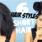 6 CUTE HAIRSTYLES FOR SHORT HAIR [Video]