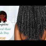 NATURAL HAIR WASH DAY????????????| Reduce shedding, Rejuvenate your scalp and retain length! [Video]