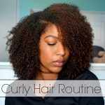 NATURAL CURLY HAIR ROUTINE!! [Video]