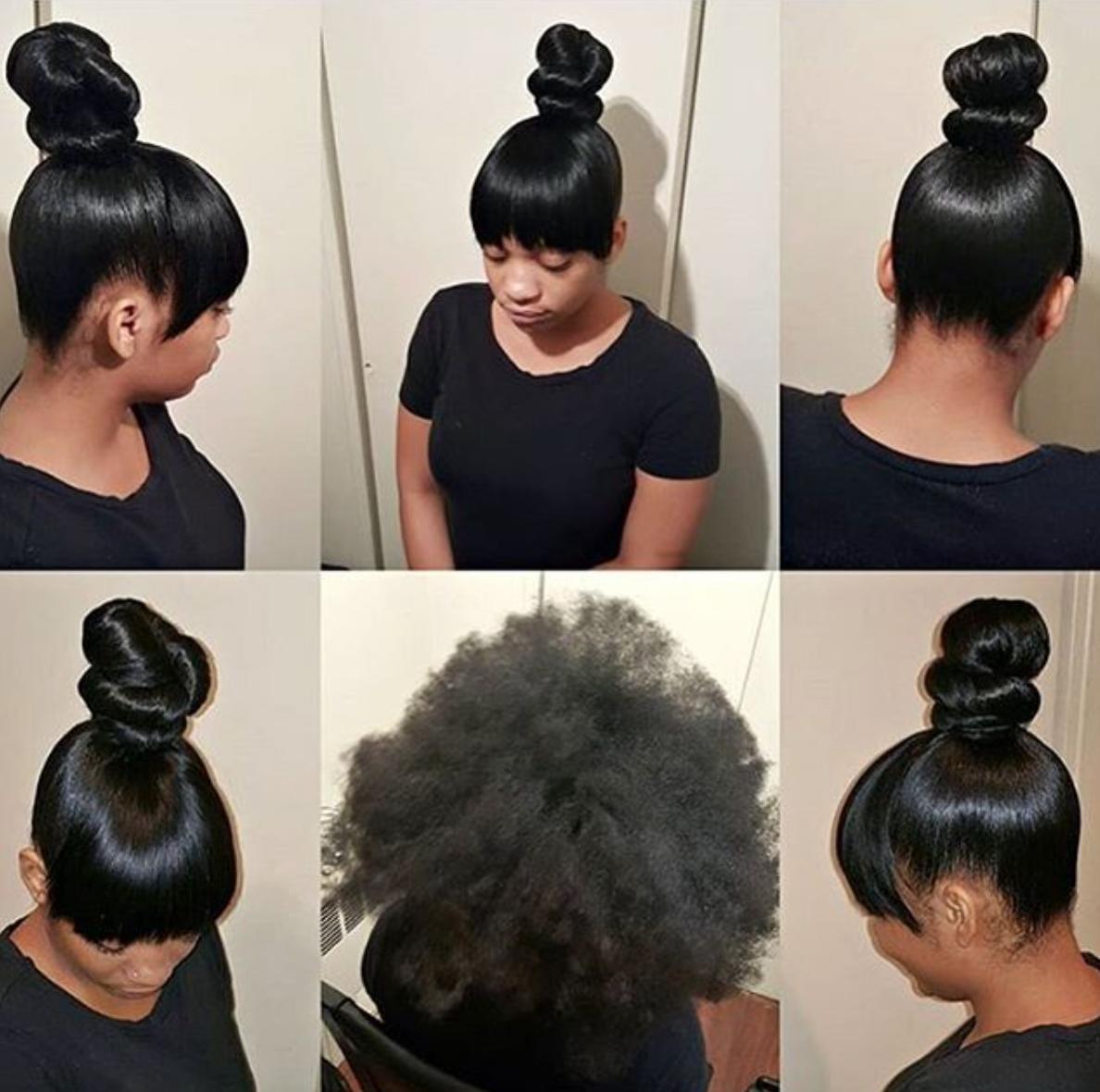 Nice Transformation Via Hairbytashi Black Hair Information